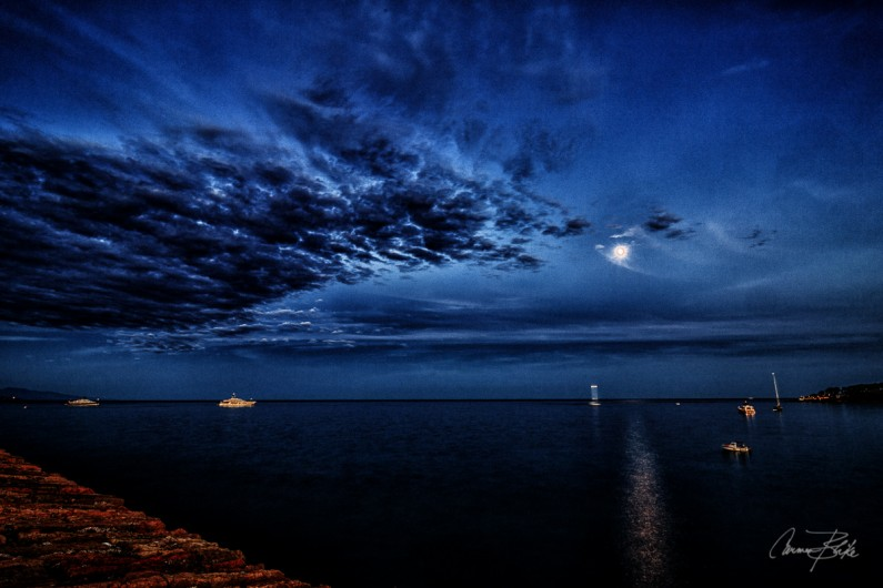 Mediterranean Moonrise